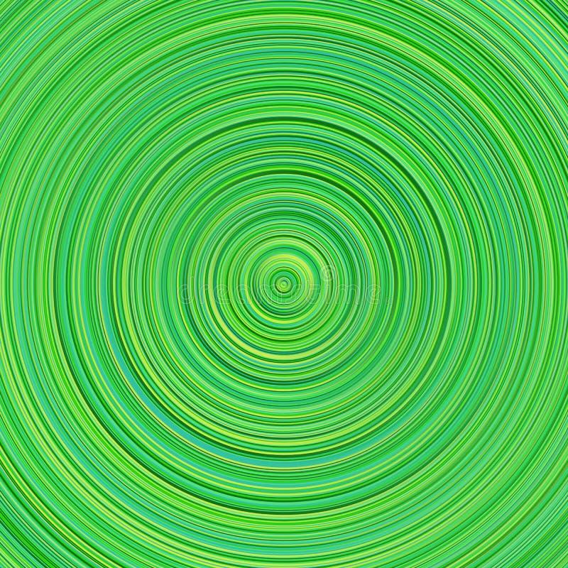 Abstrakcjonistyczny geometrical gradientowy okręgu tła projekt royalty ilustracja