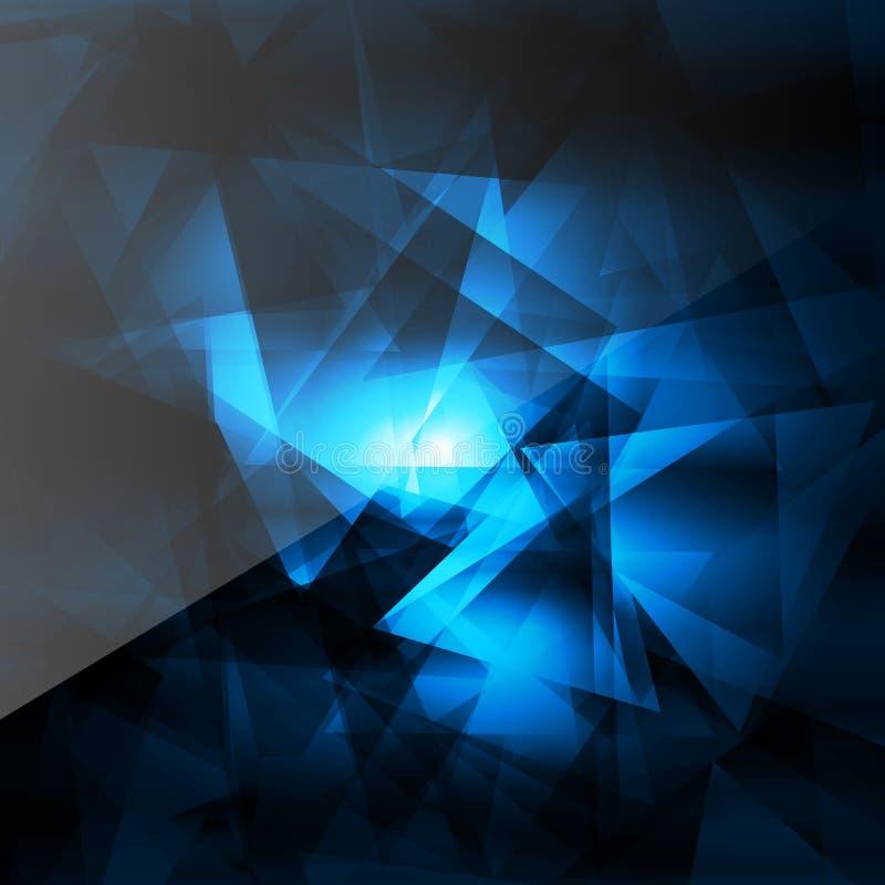Abstrakcjonistyczny geometrical tło ilustracja wektor