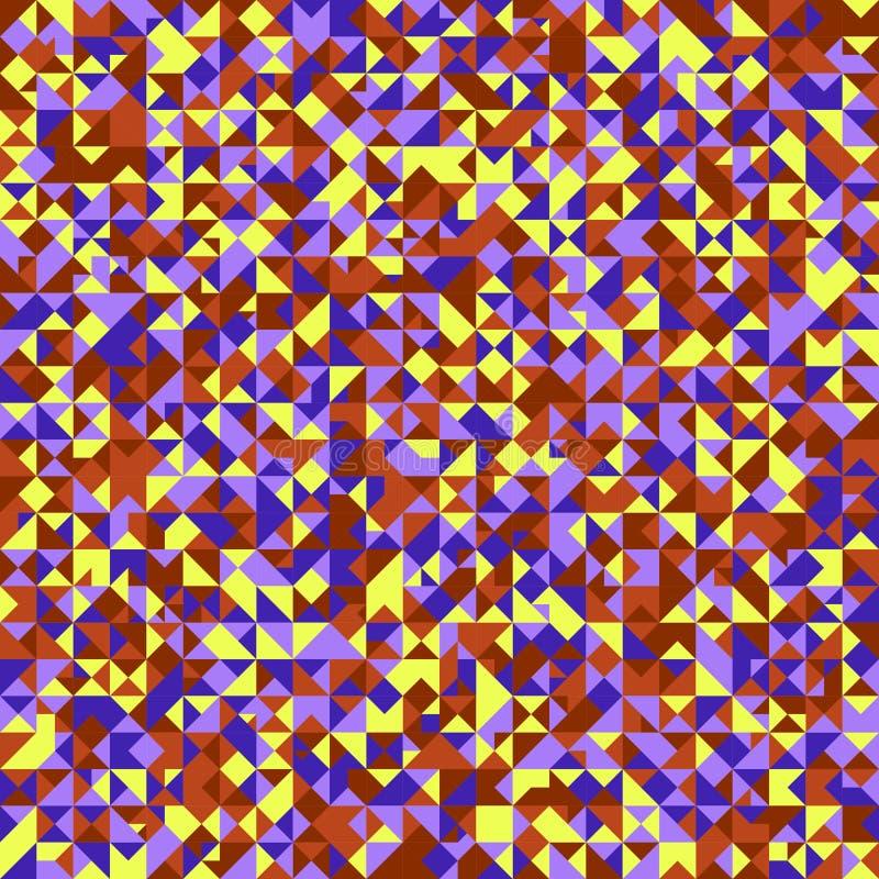 Abstrakcjonistyczny geometrical tr?jbok mozaiki wzoru t?a projekt ilustracji