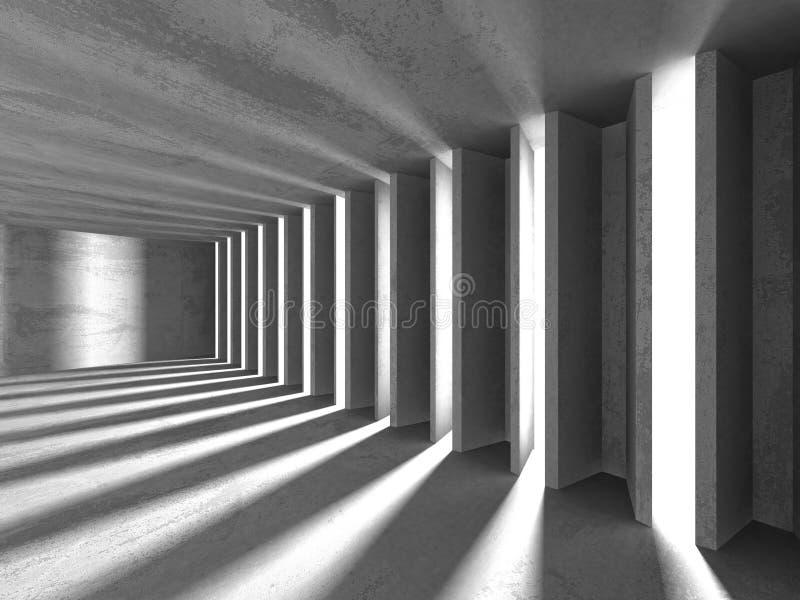 Abstrakcjonistyczny geometryczny betonowy architektury tło obraz stock