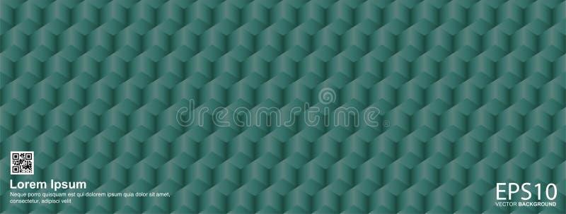 Abstrakcjonistyczny geometryczny bezszwowy kolorowy deseniowy tło royalty ilustracja