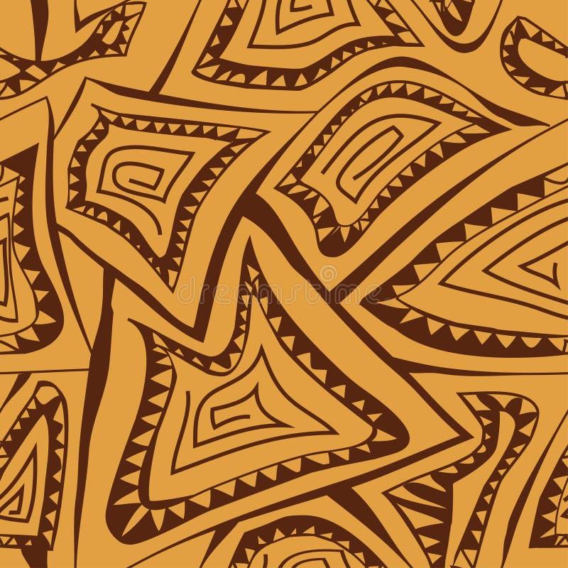 Abstrakcjonistyczny geometryczny bezszwowy wzór