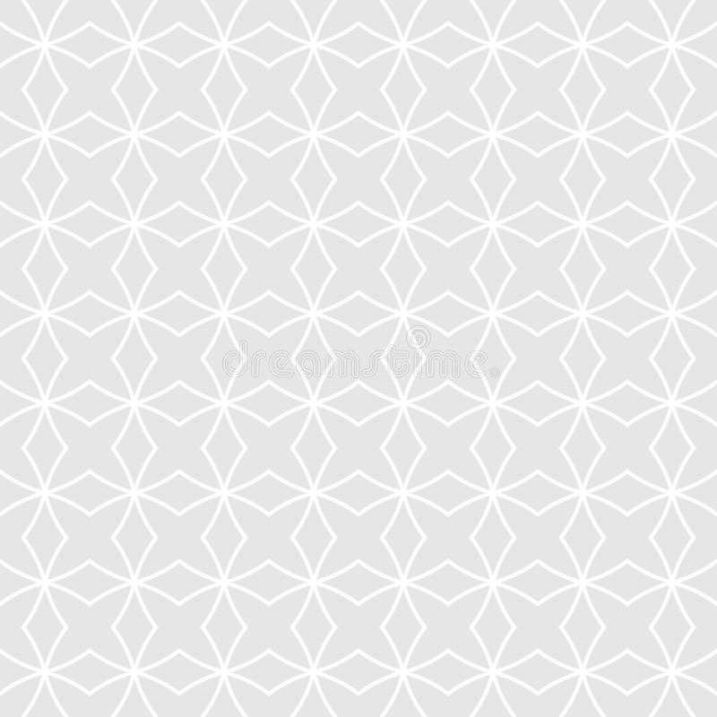 abstrakcjonistyczny geometryczny deseniowy bezszwowy Prosty geometryczny tło ilustracja wektor