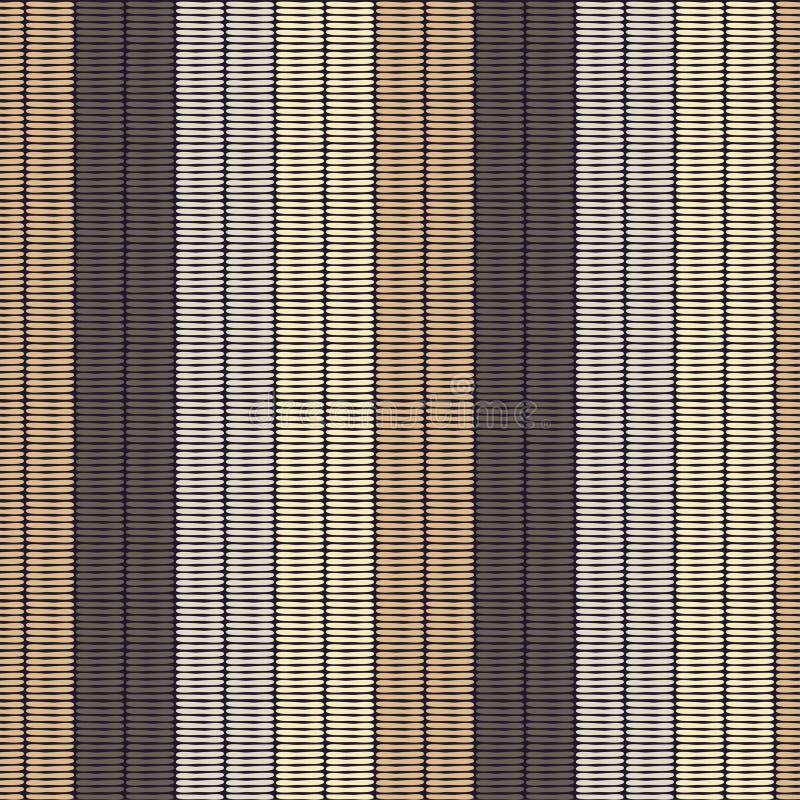 abstrakcjonistyczny geometryczny deseniowy bezszwowy tło był może używać mozaiki tekstura brushwork Ręki kluć się Skrobaniny teks ilustracja wektor