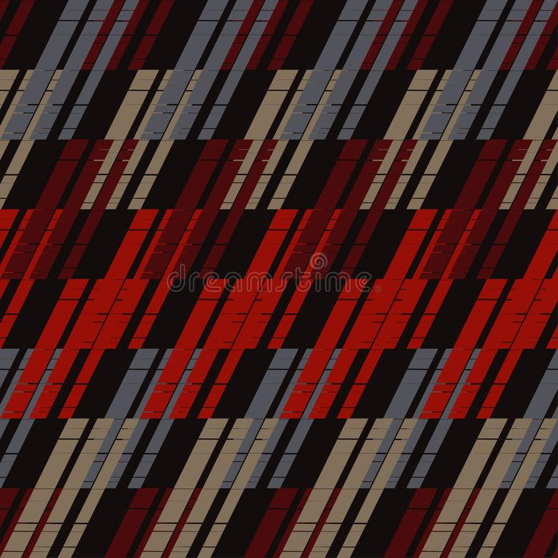 abstrakcjonistyczny geometryczny deseniowy bezszwowy tło był może używać mozaiki tekstura brushwork Ręki kluć się Skrobaniny teks ilustracji