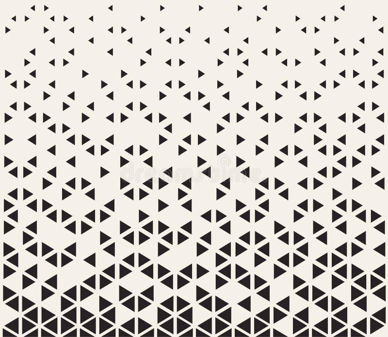 Abstrakcjonistyczny geometryczny deseniowy projekt royalty ilustracja