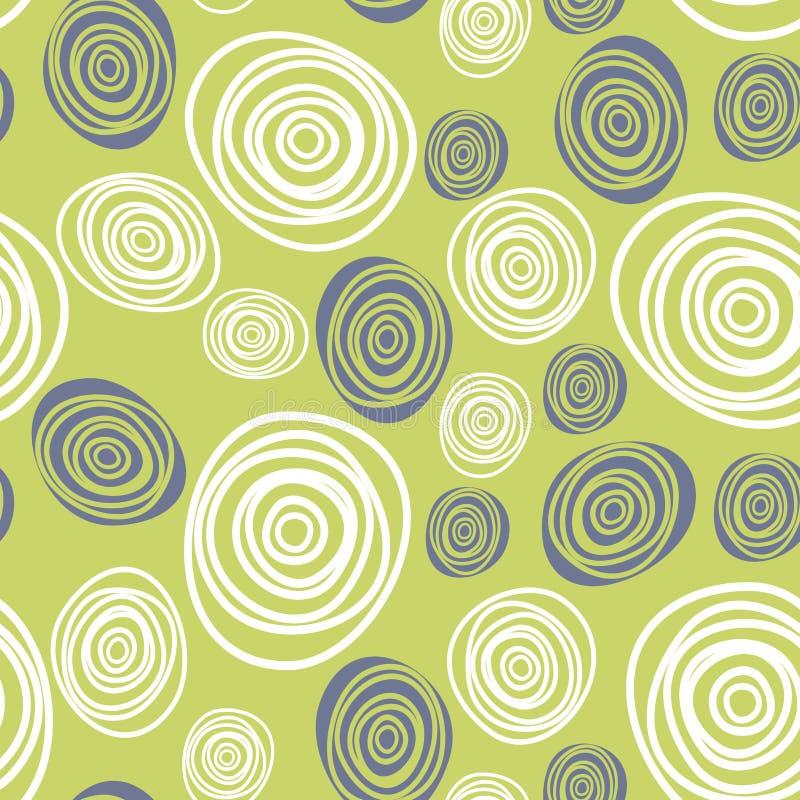 Abstrakcjonistyczny geometryczny kolorowy deseniowy tło ilustracji