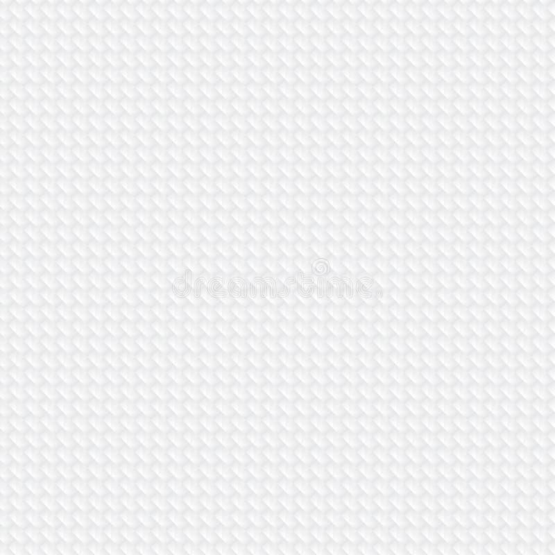 Abstrakcjonistyczny geometryczny kwadrata wzór na białej teksturze i tle zygzag lub szewron śmiałe linie ilustracji