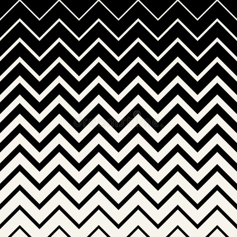 Abstrakcjonistyczny geometryczny linia graficznego projekta szewronu wzór royalty ilustracja