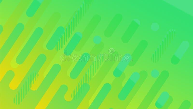 Abstrakcjonistyczny geometryczny linia wzoru tło dla biznesowego broszurki pokrywy projekta kolor żółty, czerwień, pomarańcze, gr ilustracja wektor