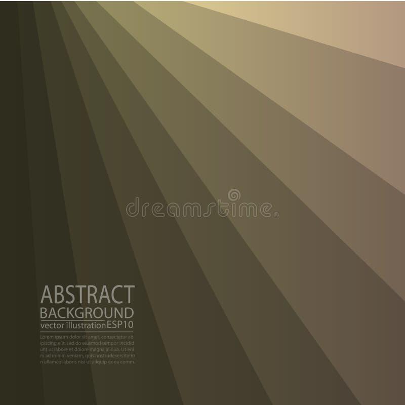 Abstrakcjonistyczny geometryczny tła brąz linie i lampasy dla parawanowego ciułacza, sztandar, artykuł, poczta, tekstura, wzór ilustracji