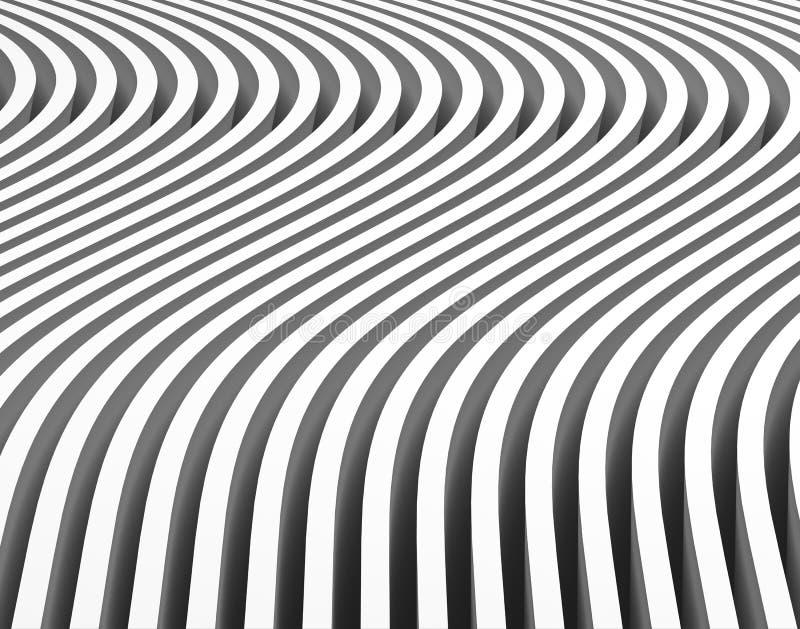 Abstrakcjonistyczny Geometryczny tło ilustracja wektor