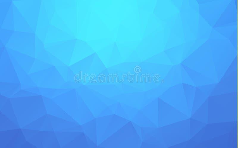 Abstrakcjonistyczny geometryczny tło z wielobokami Ewidencyjny grafika skład z geometrycznymi kształtami Retro etykietka projekt royalty ilustracja