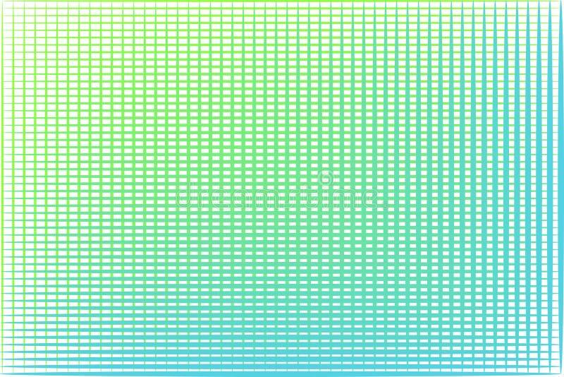 Abstrakcjonistyczny geometryczny wektorowy tło Sieć w wapno zieleni lazurowej, bławy, barwi Świeży pomysł dla twój sieć projekta royalty ilustracja