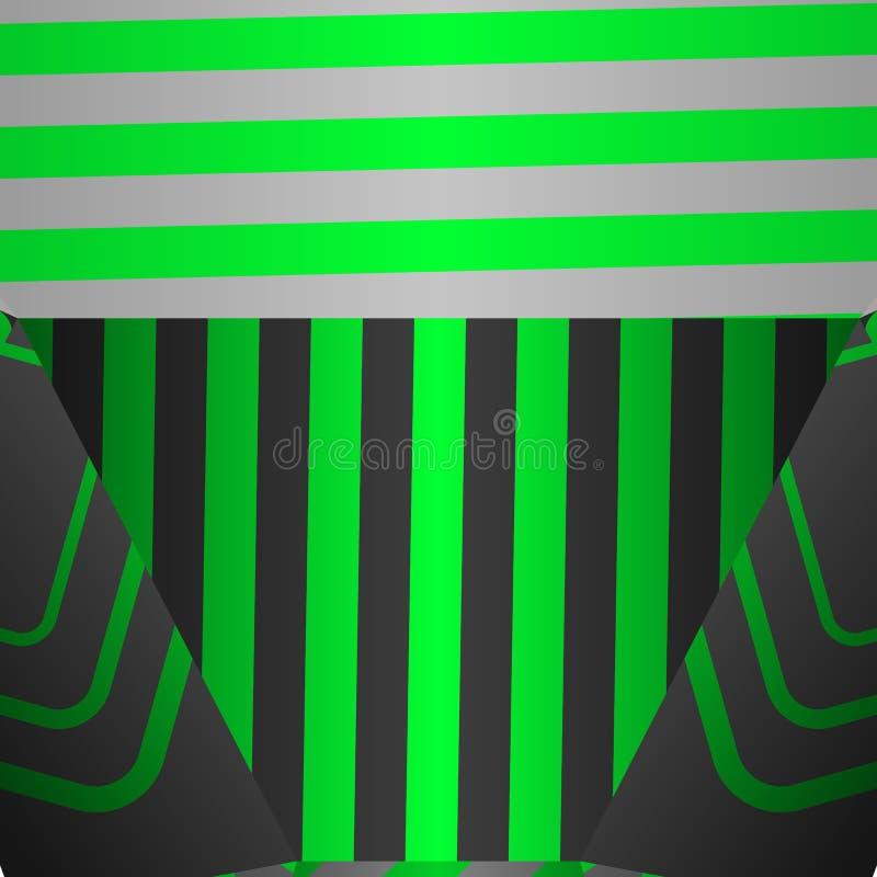 Abstrakcjonistyczny geometryczny wektorowy tło w wystrzał sztuki stylu ilustracji