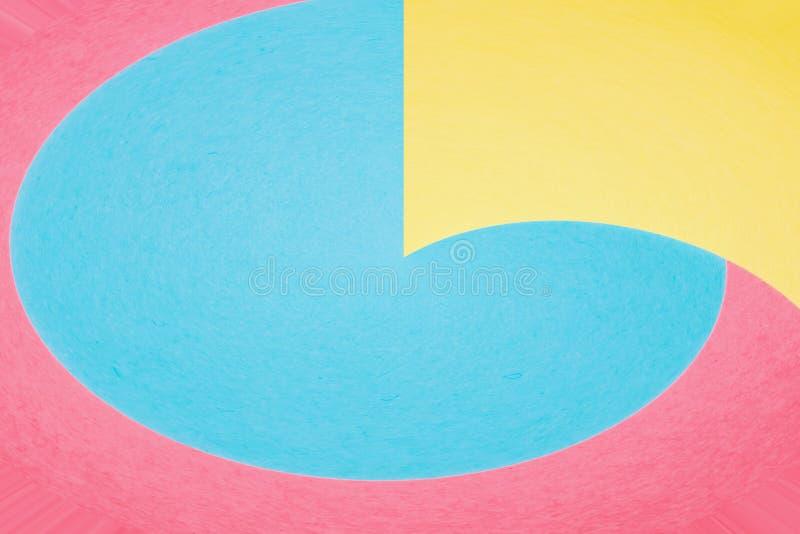 Abstrakcjonistyczny geometryczny wygina się kształta tło fotografia royalty free
