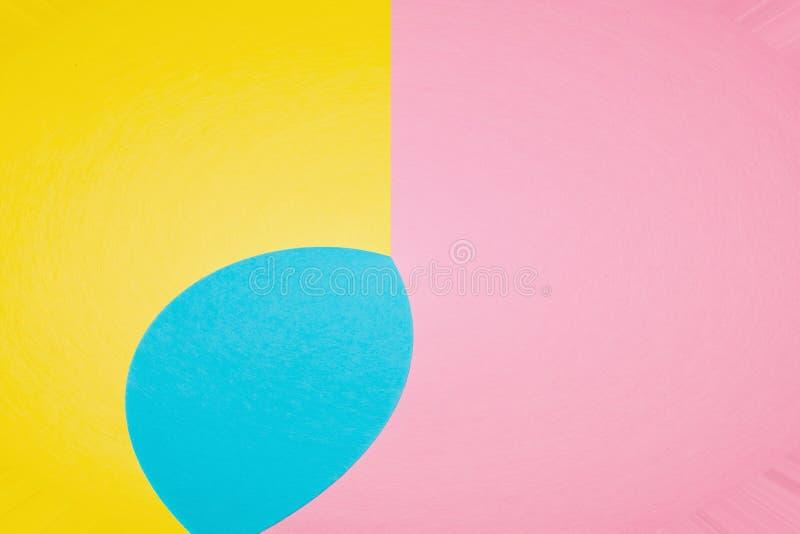 Abstrakcjonistyczny geometryczny wygina się kształta tło obrazy royalty free