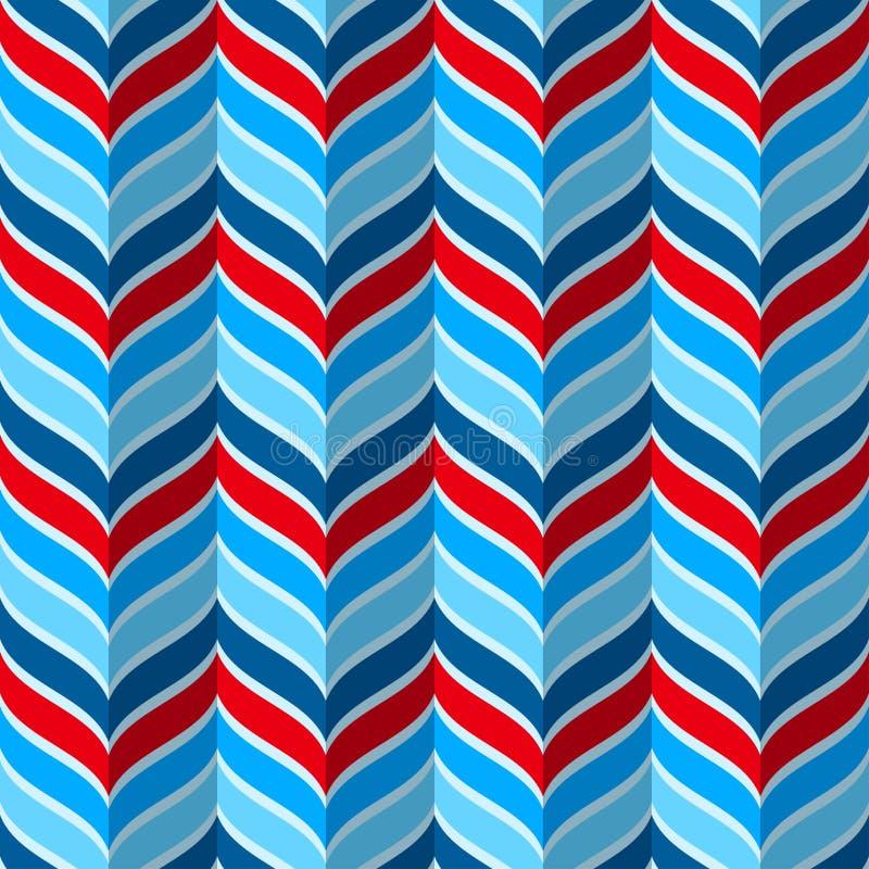 Abstrakcjonistyczny geometryczny wzór ilustracji