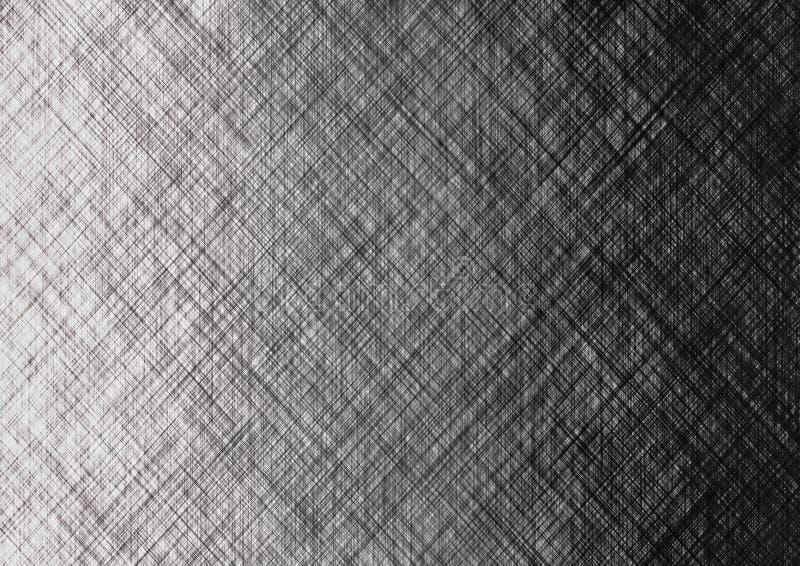 Abstrakcjonistyczny Gradated tekstury Popielaty Brezentowy tło ilustracja wektor
