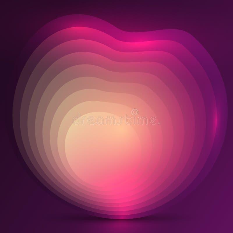 Abstrakcjonistyczny gradientowy projekta tło ilustracja wektor