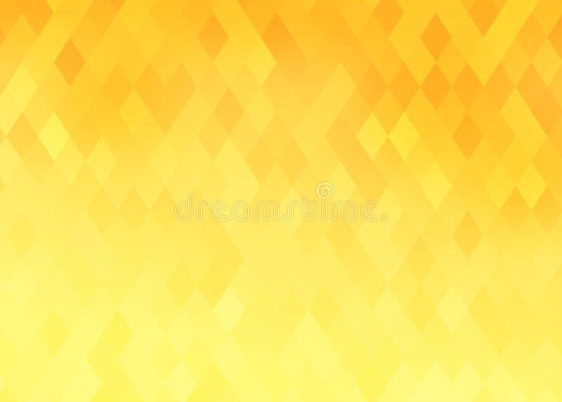 Abstrakcjonistyczny gradientowy rhombus tło ilustracja wektor