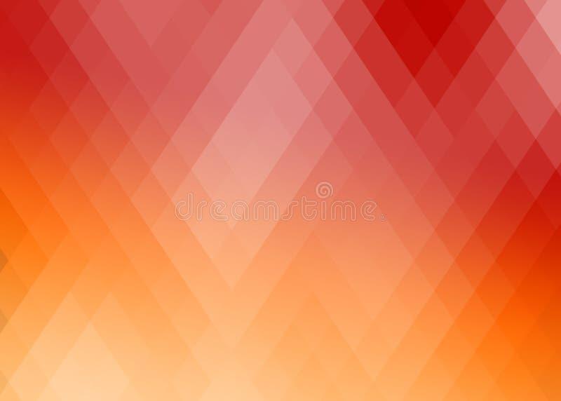 Abstrakcjonistyczny gradientowy rhombus tło royalty ilustracja