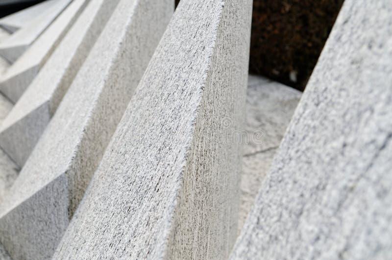 Abstrakcjonistyczny gravestone w chrześcijański cementary w Lugano, Szwajcaria obraz royalty free