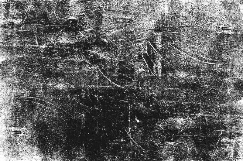 Abstrakcjonistyczny grunge malująca porysowana tekstura ilustracji