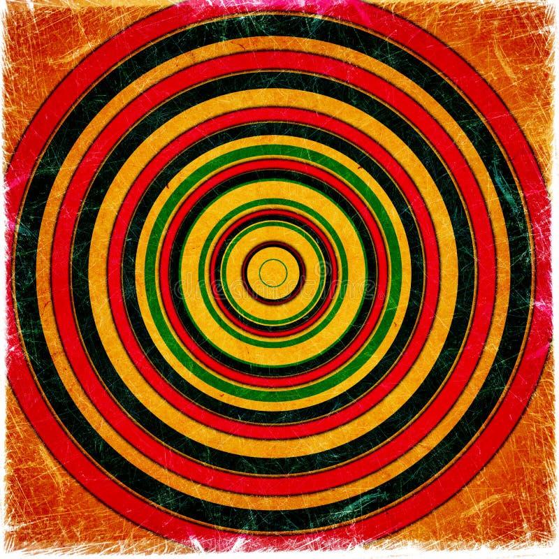 Abstrakcjonistyczny Grunge tło ilustracja wektor