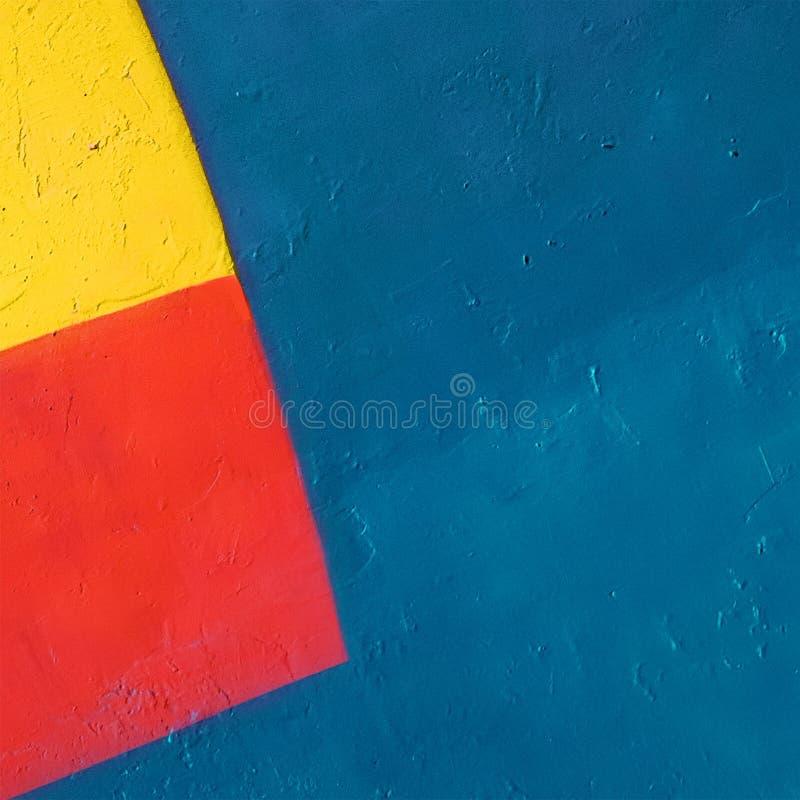 Abstrakcjonistyczny Grunge tło z geometrycznym wzorem zdjęcie stock