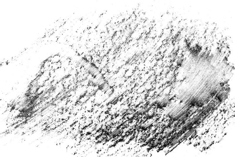 Abstrakcjonistyczny grunge tekstury ołówek ilustracja wektor