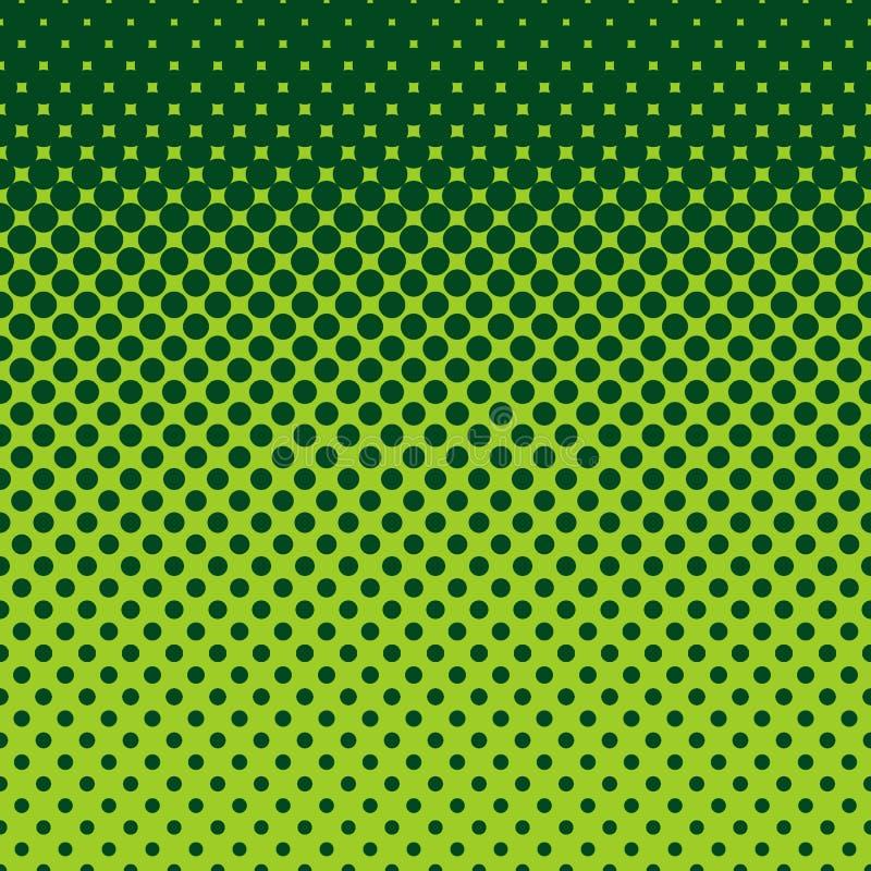 Abstrakcjonistyczny halftone kropki wzoru tło ilustracji