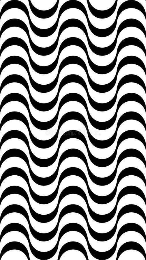 Abstrakcjonistyczny hipnotyczny format royalty ilustracja