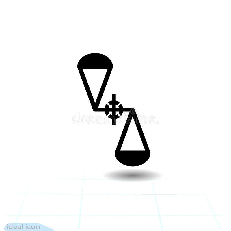 Abstrakcjonistyczny ikona zmienny spoważnienie Nauki teoretycznego physics równania ogólna względność i nauk formuły, Strefa - an ilustracja wektor
