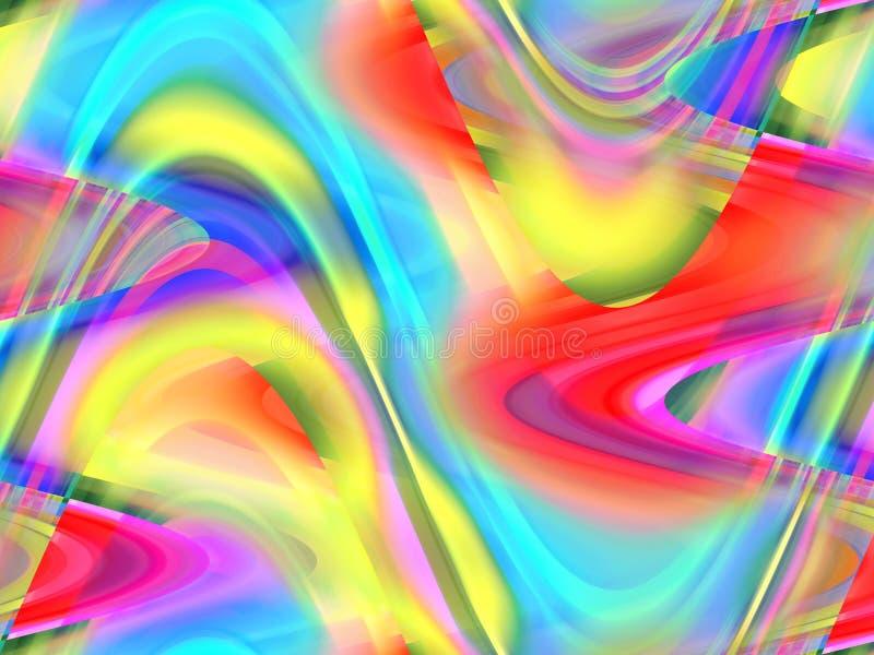 Abstrakcjonistyczny iskrzasty miękki żywy tło, grafika, abstrakcjonistyczny tło i tekstura, ilustracji