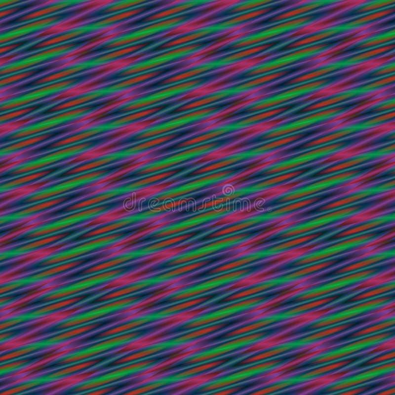 Abstrakcjonistyczny jaskrawy, kolorowy geometryczny tło w, menchii, zieleni i błękita gradientach, royalty ilustracja
