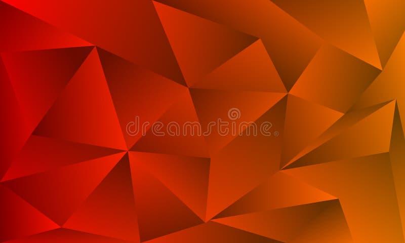 Abstrakcjonistyczny jaskrawy pomara?czowy kolor ? ilustracji