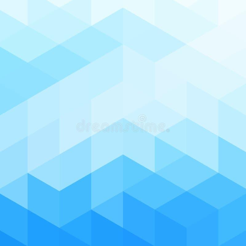 Abstrakcjonistyczny jaskrawy tło (wektorowa mozaika) obraz royalty free