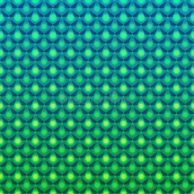 Abstrakcjonistyczny jaskrawy wzór ilustracji