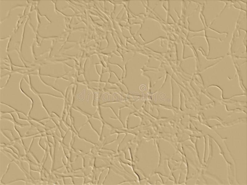 Abstrakcjonistyczny jasnobrązowy tło obrazy royalty free