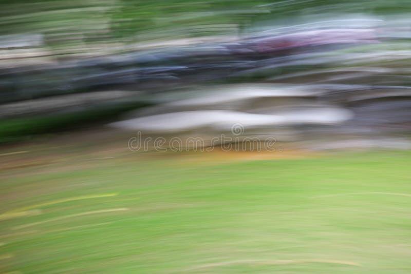 Abstrakcjonistyczny jasnozielony przyśpieszenie prędkości ruchu tło zdjęcia stock