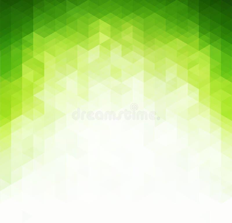 Abstrakcjonistyczny jasnozielony tło ilustracja wektor