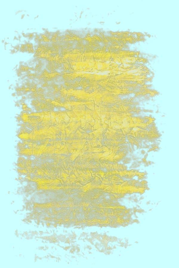 abstrakcjonistyczny kolor żółty ilustracja wektor