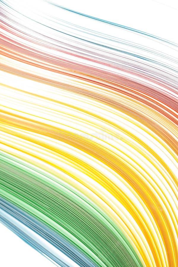 Abstrakcjonistyczny kolor odizolowywająca miękka część macha tło fotografia stock