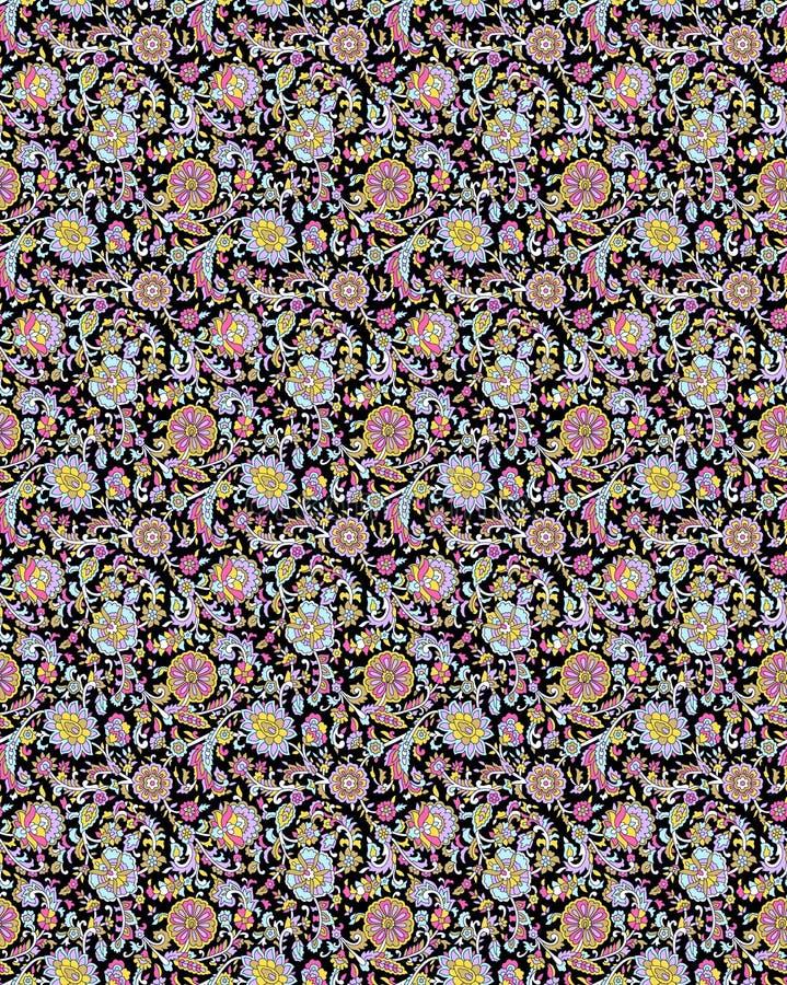 Abstrakcjonistyczny kolorowy blokowego druku wzór obraz royalty free