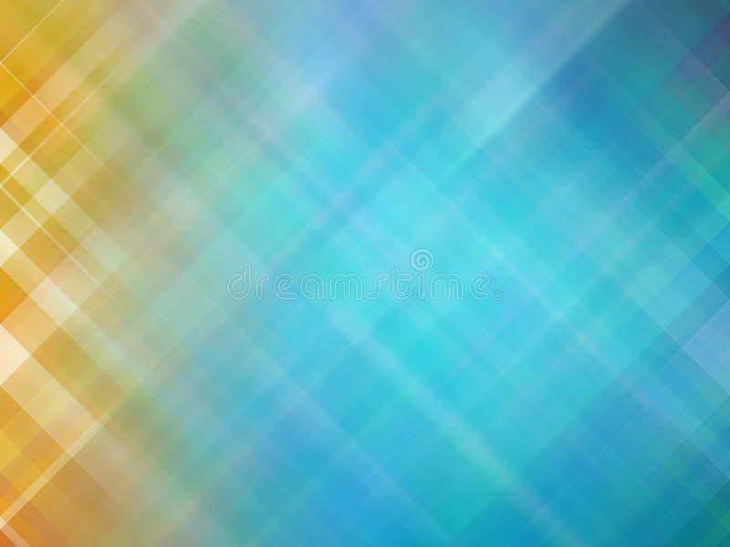 Abstrakcjonistyczny kolorowy gładzi zamazanego textured tło z ostrości tonującej w błękitnym kolorze Może używać jako tapeta lub  zdjęcie stock
