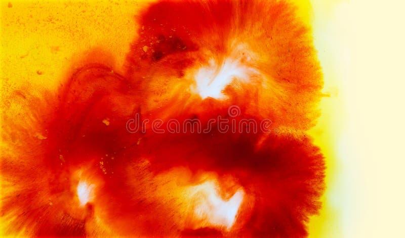 Abstrakcjonistyczny kolorowy grunge tekstury tło, kwiatu pojęcie, miękka część i plama, zdjęcia royalty free