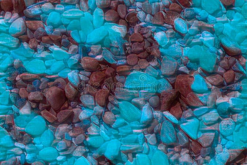 Abstrakcjonistyczny kolorowy kamienia tło zdjęcia royalty free