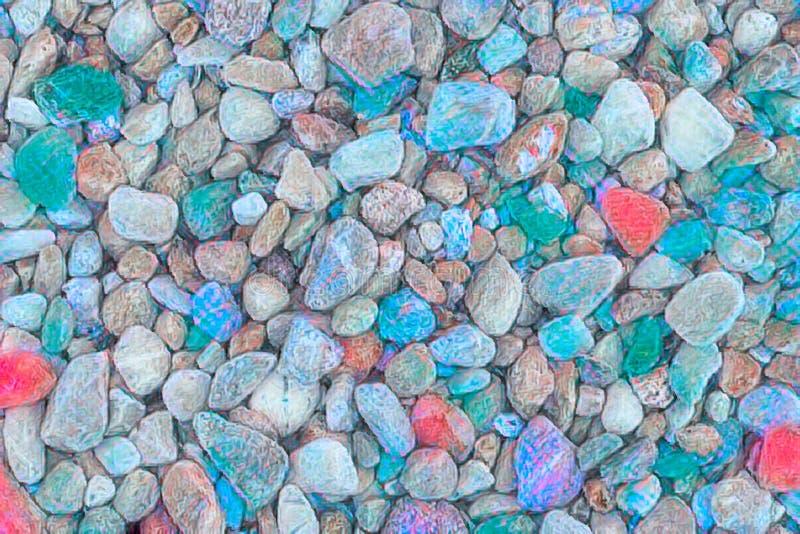 Abstrakcjonistyczny kolorowy kamienia tło fotografia royalty free