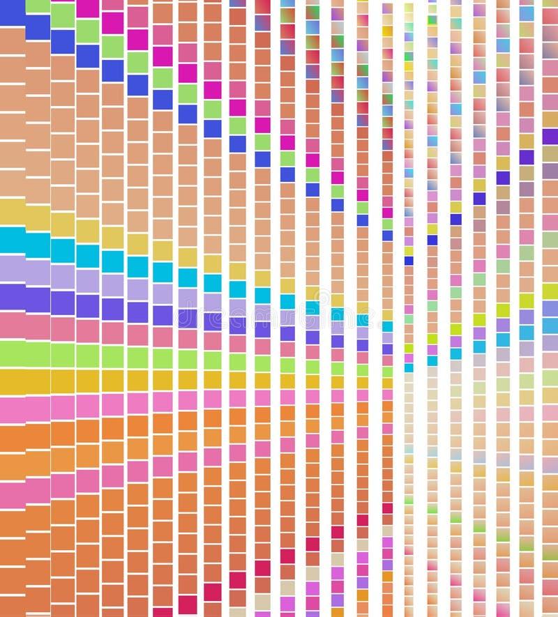 Download Abstrakcjonistyczny Kolorowy Kwadrata Wzór, Piksel Kropki Ilustracja Wektor - Ilustracja złożonej z biznes, geometryczny: 53788849